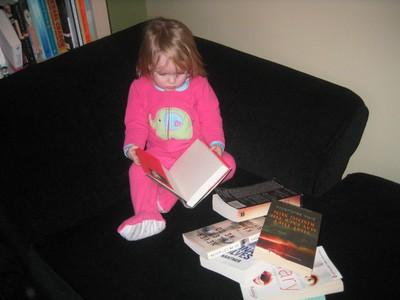 PEPS girl reading