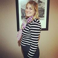 Katie second trimester