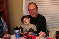Bernie with grandson