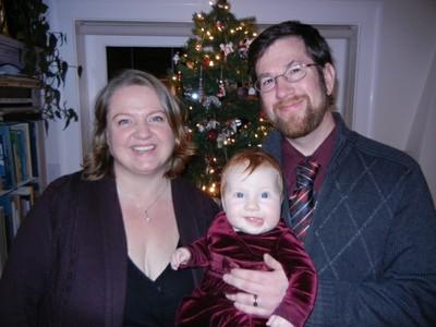 Caroline Hughes' family