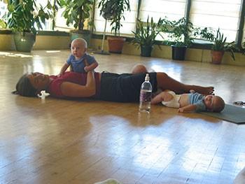 Prenatal Yoga Babies