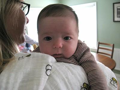 Burping Baby