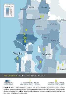 PEPS Outreach Map