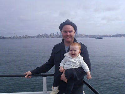 Toddler Ferry Ride
