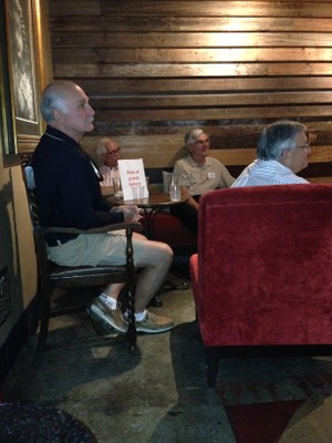Grandfathers at PEPS Happy Hour