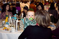 Baby at Lucheon