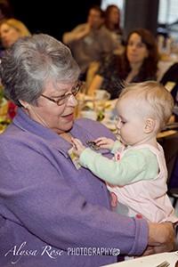 Grandma with her grandchild