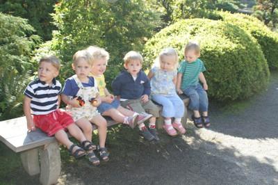 Older kids sitting