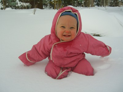 PEPS Baby in the Snow