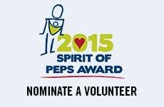 Spirit of PEPS Award