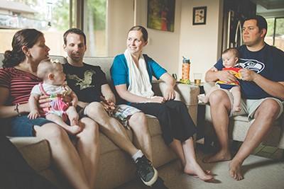 Newborn Couple's Group