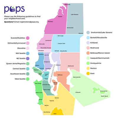 PEPS Neighborhood map