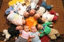 Babies in a Circle