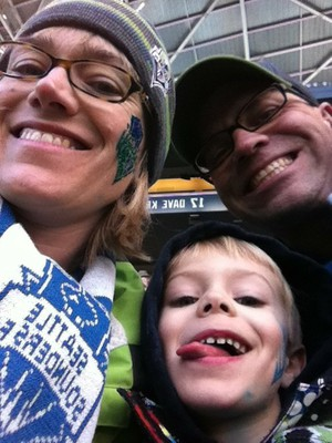 Fritz's at the Sounders Game
