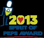 2013 Spirit of PEPS Award Icon
