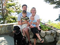 Chris and family 2004